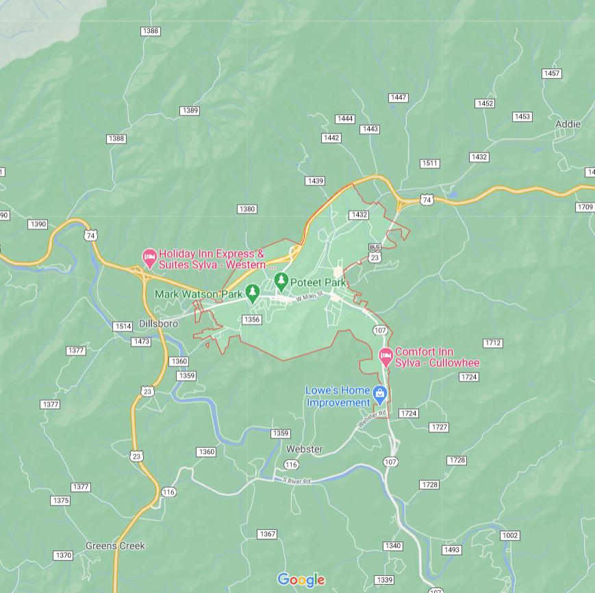 Sylva in the map