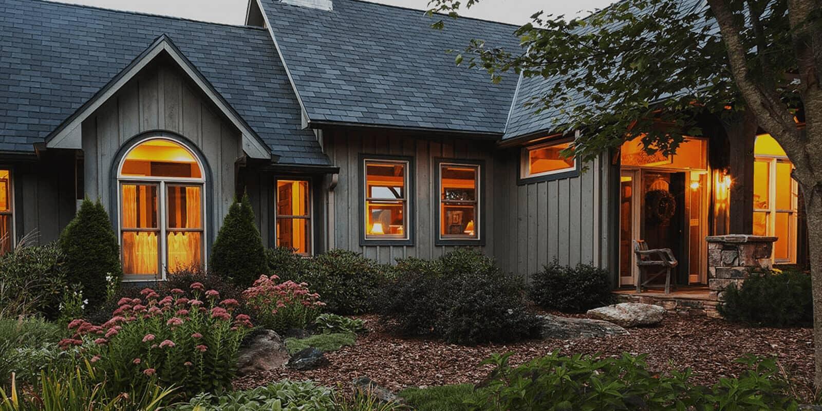 Modern home in North Carolina